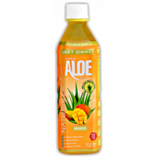 Just Drink Aloe Vera Drink Mango (500ml) x 12Pack