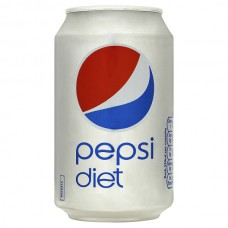 Pepsi Diet UK Regular Can (330ml) X 24Cans