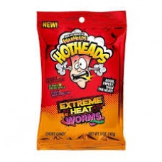 Warheads Hotheads Extreme Worms Original bag