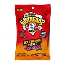 Warheads Hotheads Extreme Worms Tropical bag
