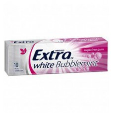 Extra White Bubble Mint Chewing Gum