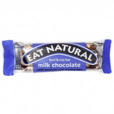 Eat natural peanut and chocolate