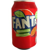 Fanta Raspberry/Passion (355ml) - 24 Pack
