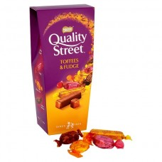 Quality Street Toffee and Fudge Carton